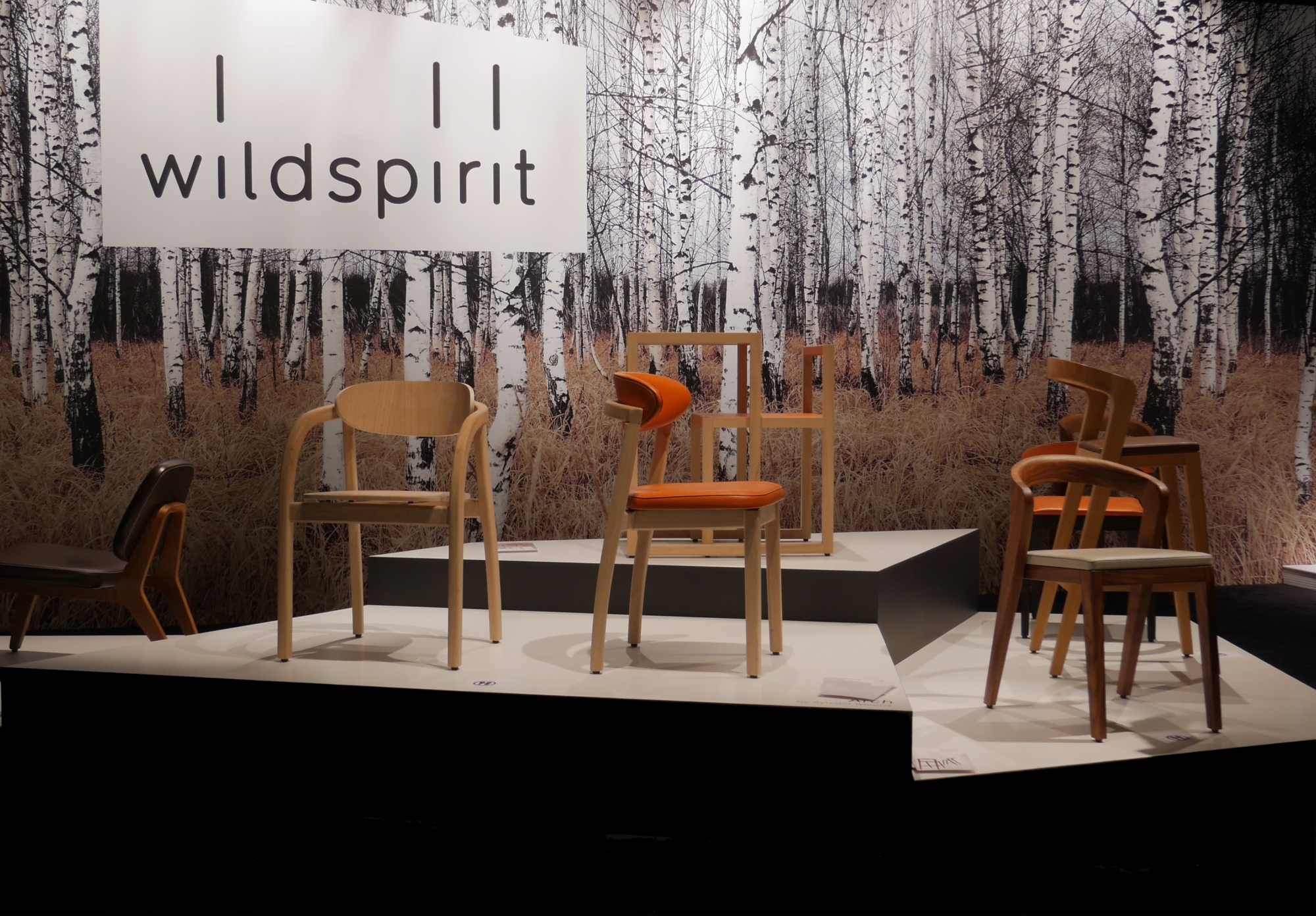 New ARCH chair for Wildspirit (BE) at Interieur | SYLVAIN WILLENZ