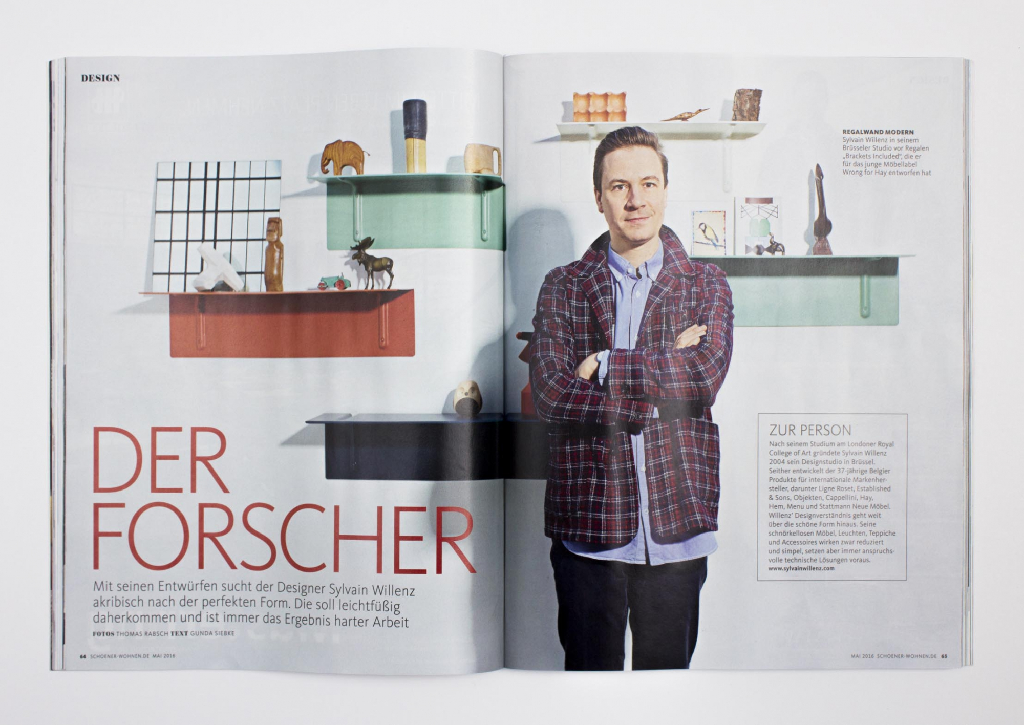 sch ner wohnen de feature and article sylvain willenz. Black Bedroom Furniture Sets. Home Design Ideas